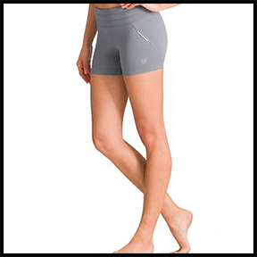 ATHLETA CROSS IT SHORTIE  These shorts are a go-to. For high impact or hot yoga, these are your stay put choice.