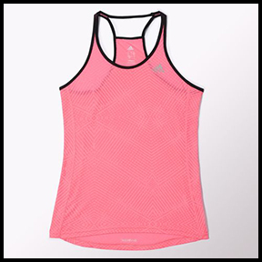 "ADIDAS SUPERNOVA MESH TANK  ""You run like a girl"" means I am going to kick your @$$. And yes, fighting like a girl means not only the ability to beat cancer but to beat your biggest fears. We got this."