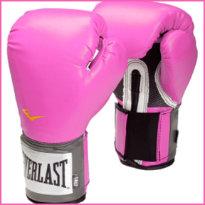 EVERLAST PRO  STYLE ELITE TRAINING GLOVES  With every purchase, Everlast will donate $1 to the Breast Cancer Research Foundation.