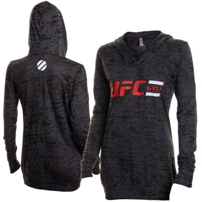 UFC Gym Women's Classic Burn Out Hoodie