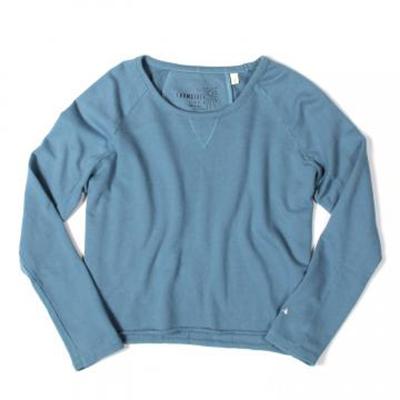 Loomstate Dawn Blue Raglan Sweatshirt