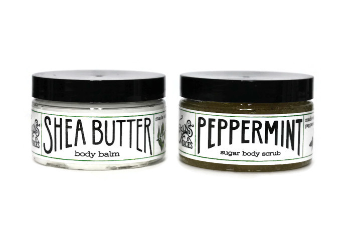Erin's Faces Peppermint & Cream Gift Set