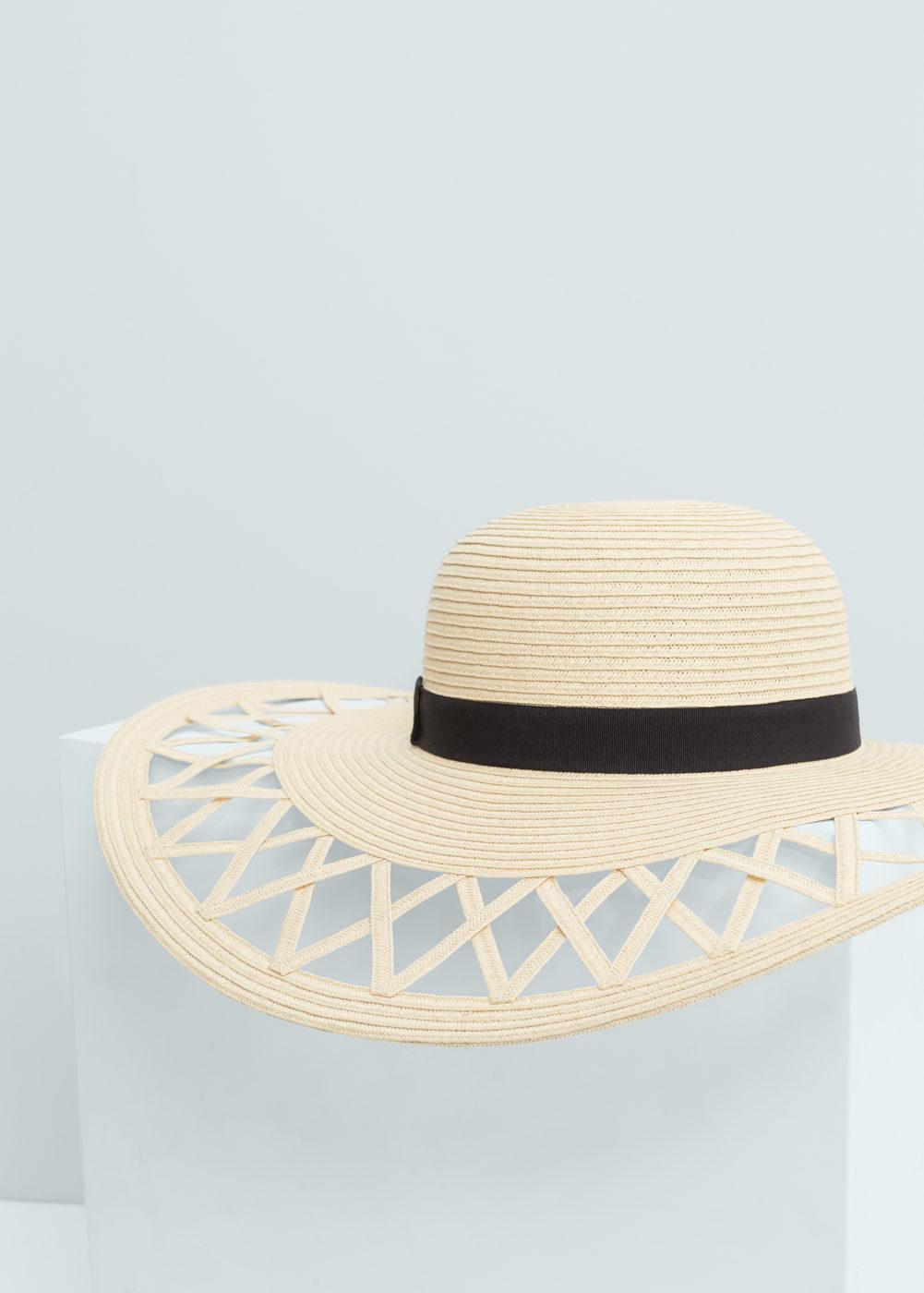 Mango Straw Pamela Hat, $45