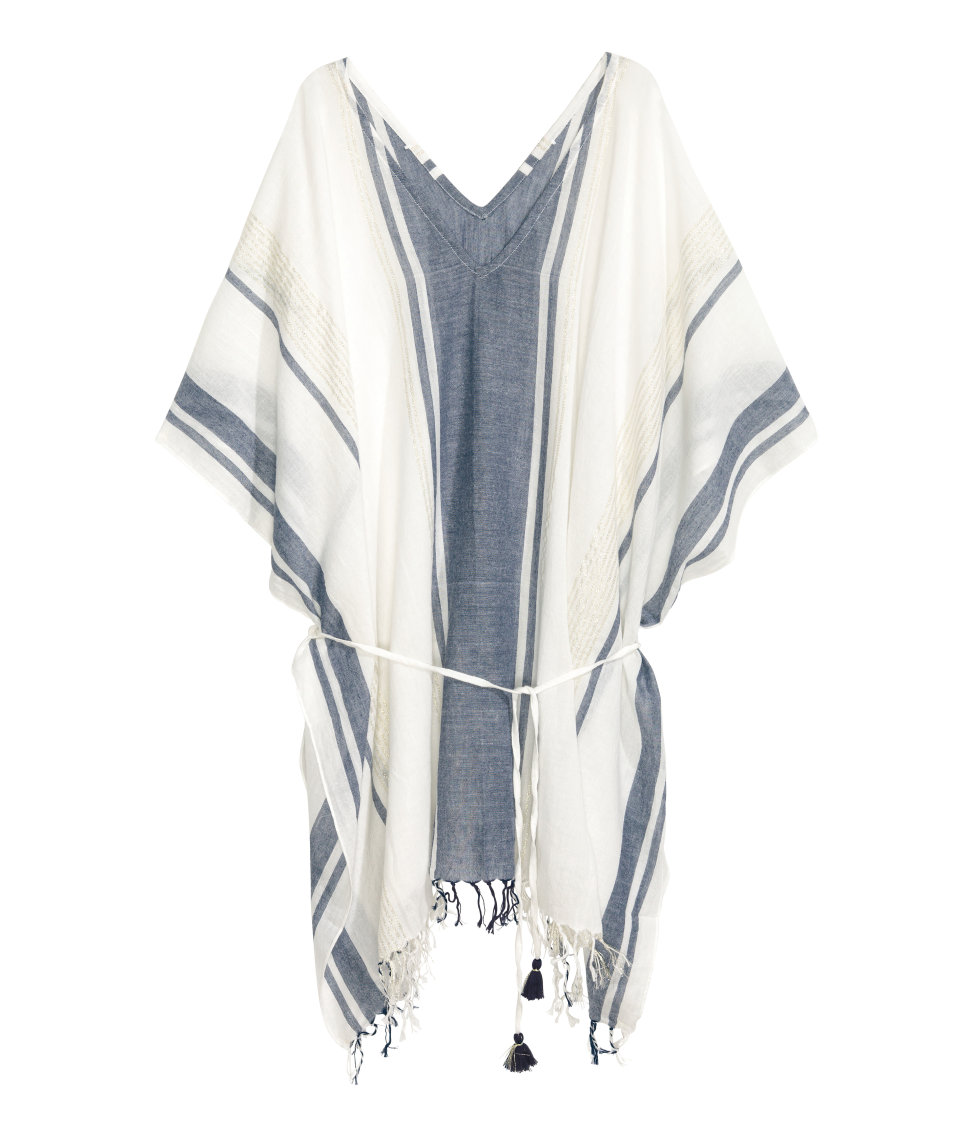 H&M Cotton Poncho, $24