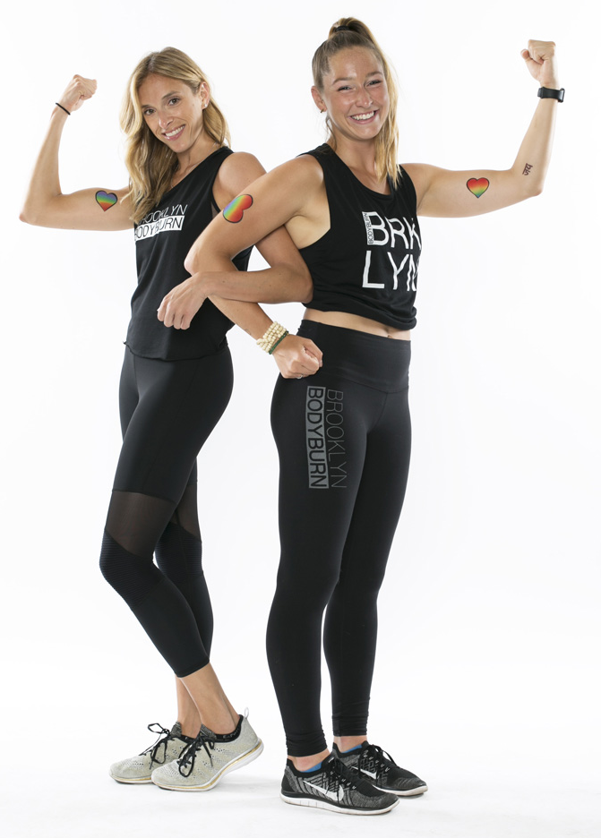 Tracy Carlinsky + Chelsea File, Brooklyn Bodyburn