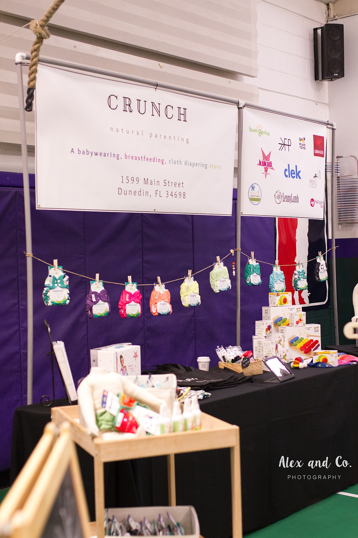 Crunch Natural Parenting | Alex and Co. Photography | Tampa Bay Birth Network | Natural Birth & Baby Expo 2016
