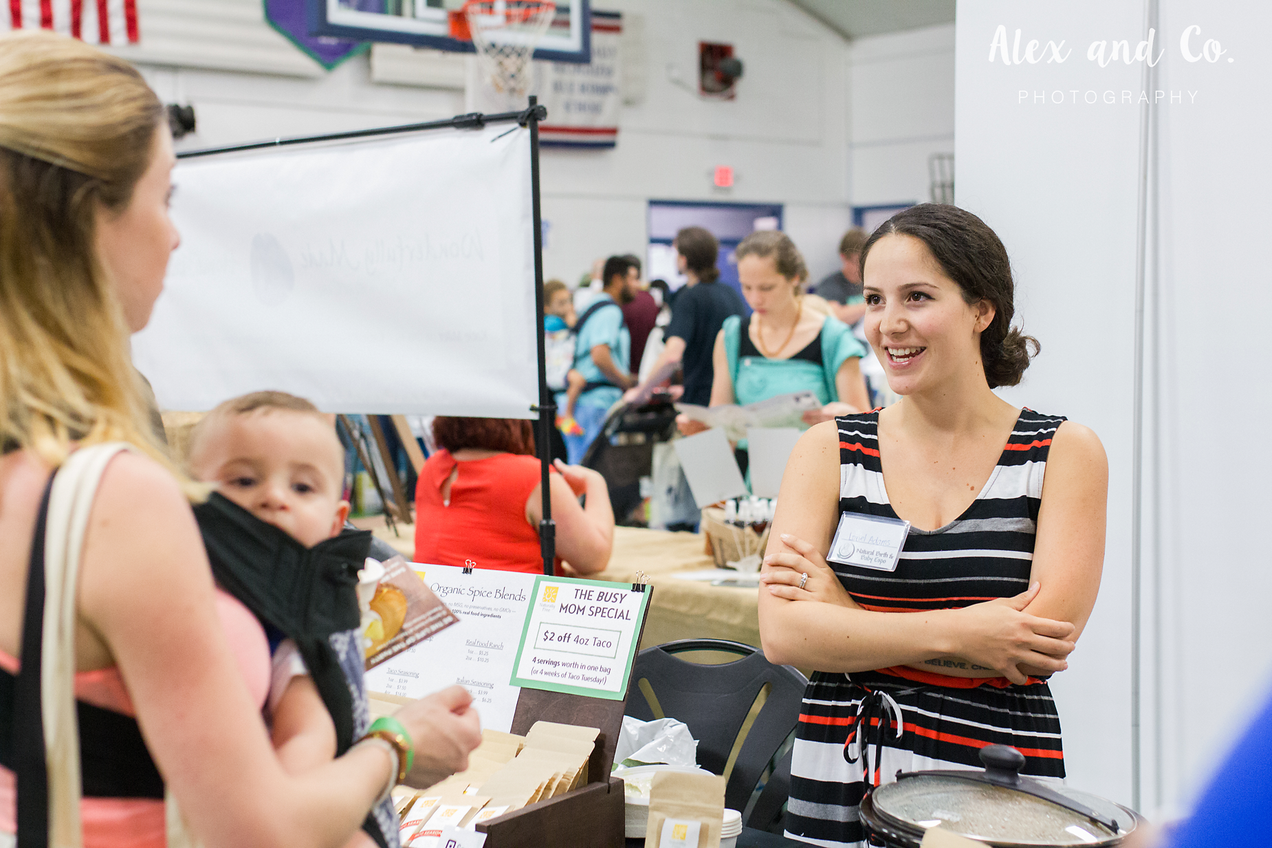 Alex and Co. Photography | Tampa Bay Birth Network | Natural Birth & Baby Expo 2016