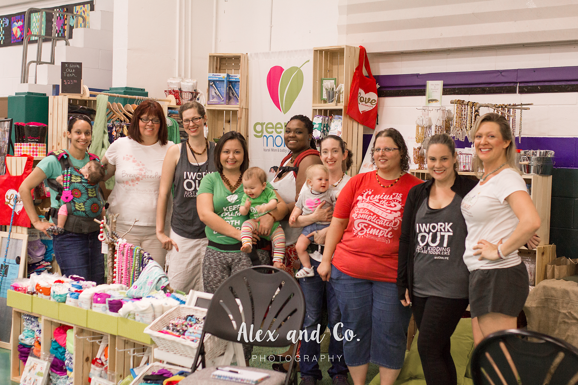 Alex and Co. Photography | Tampa Bay Birth Network | Natural Birth & Baby Expo 2016 | Green Mommy Diapers