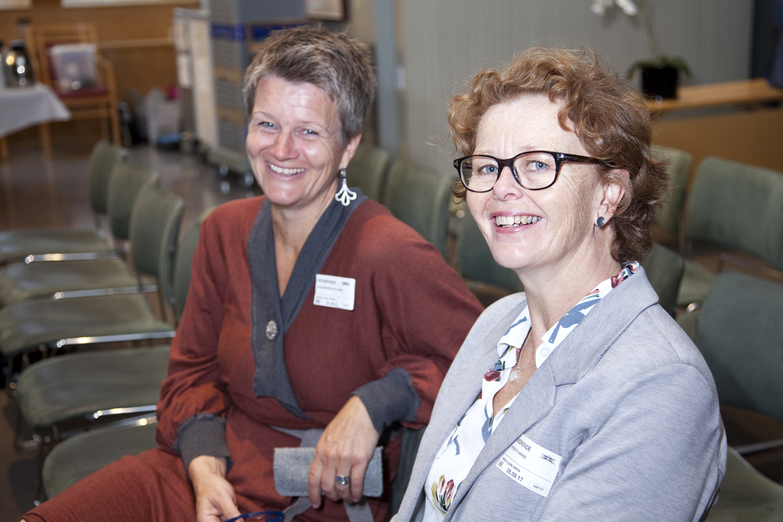 Designer Gry Marie Grindbakken and Hanne Bergseth (Norsk Håndverksinstitutt)