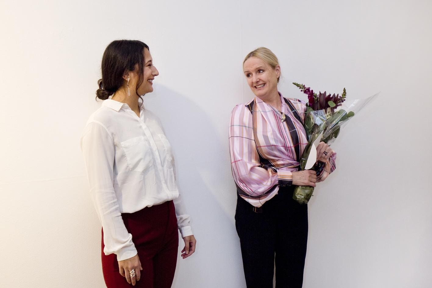 Mariella Yakubu and Marianne Bergskaug (NAJD)