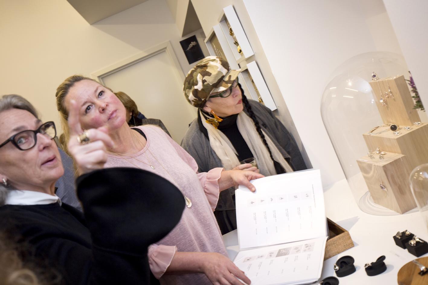 Designer Elisabeth Due and Kirsten Eli Bergersen