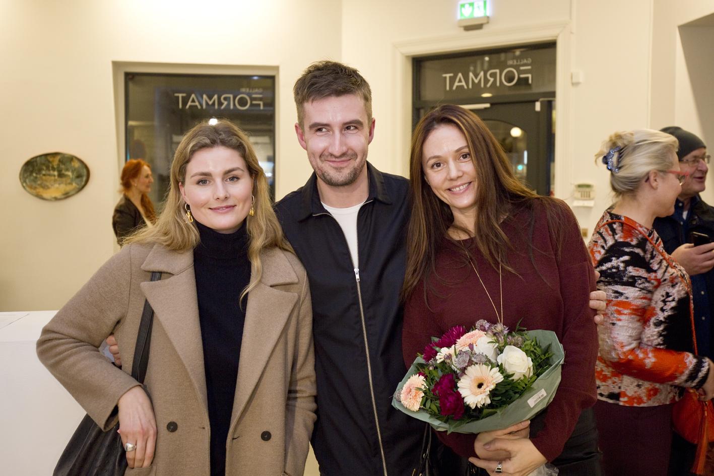 Designers Annie Berner, Vlad Kladko, Benedicte Sparstad