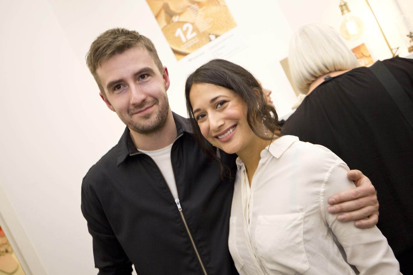 Vlad Kladko and Mariella Yakubu