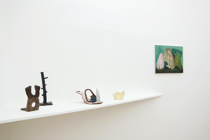 Veronika Hilger - Erdbewegungen Hilger - installation view