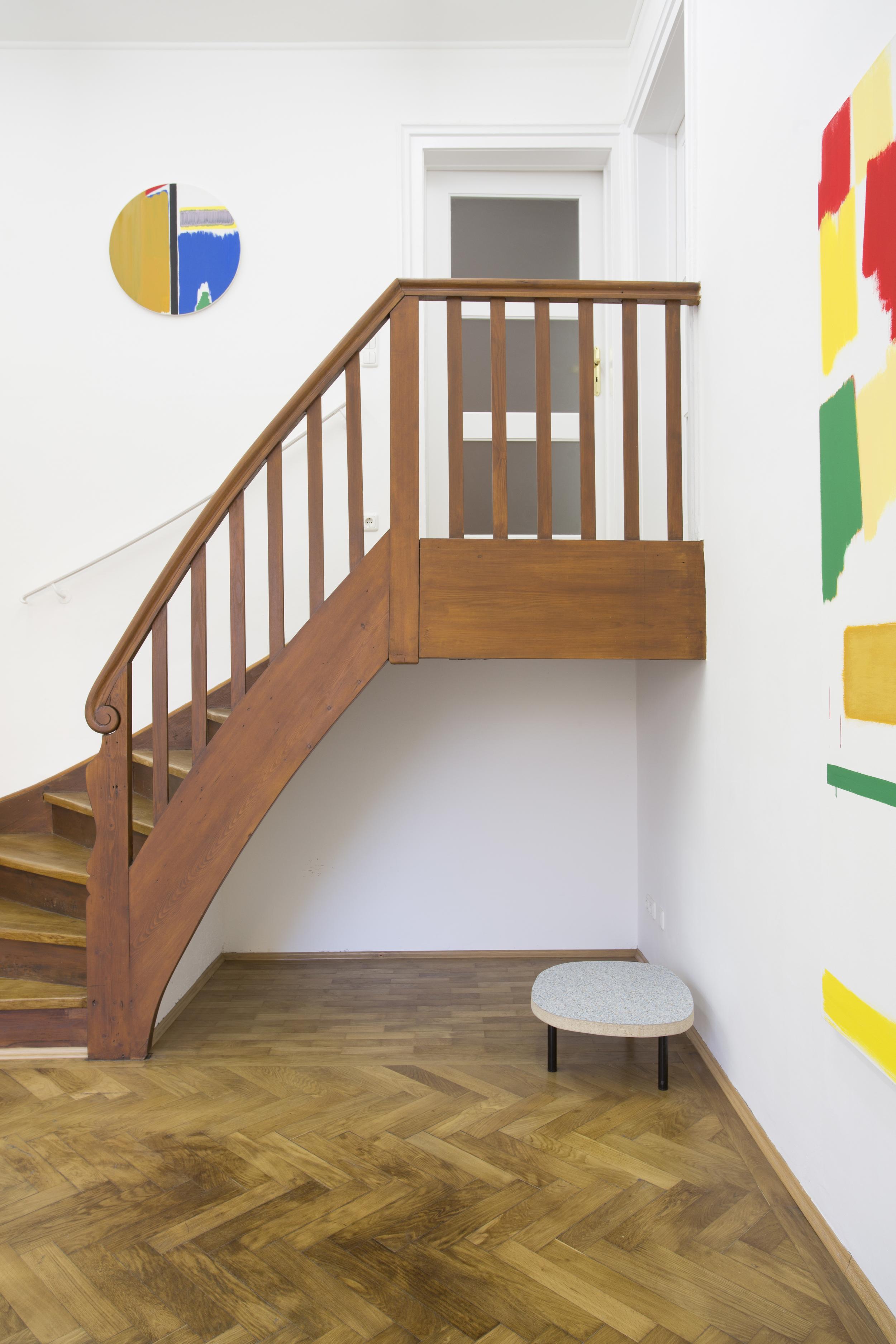 Elvire Bonduelle - waiting room #4 - installation view (Bernard Piffaretti, Elvire Bonduelle)