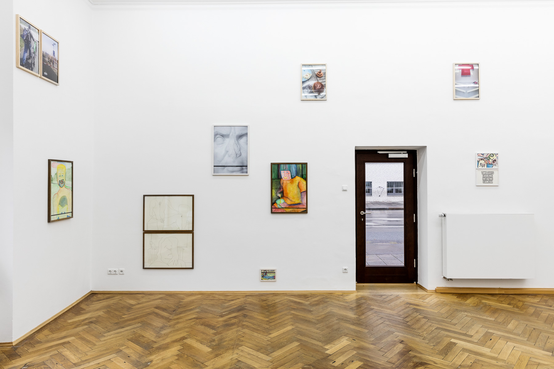 installation view, Sebastian Jung, It's not about me, 2016