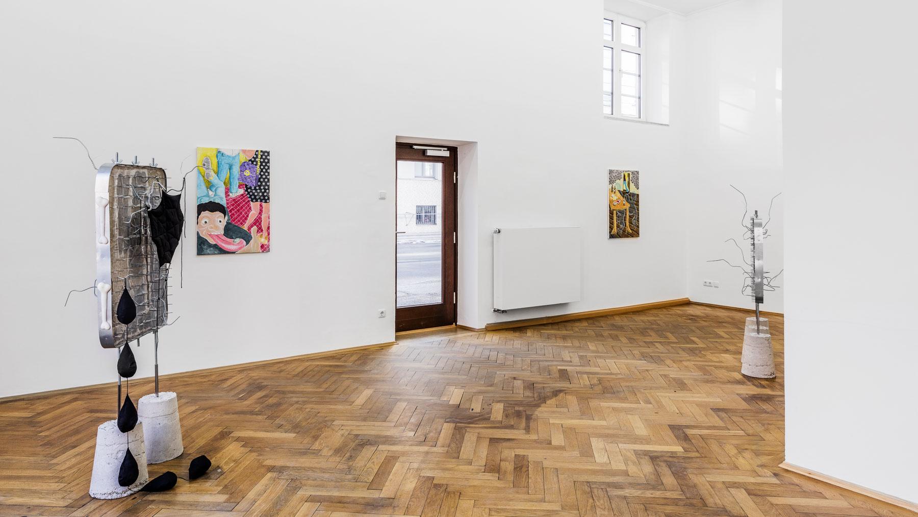 Stefan Fuchs, Saturdays People, installation view