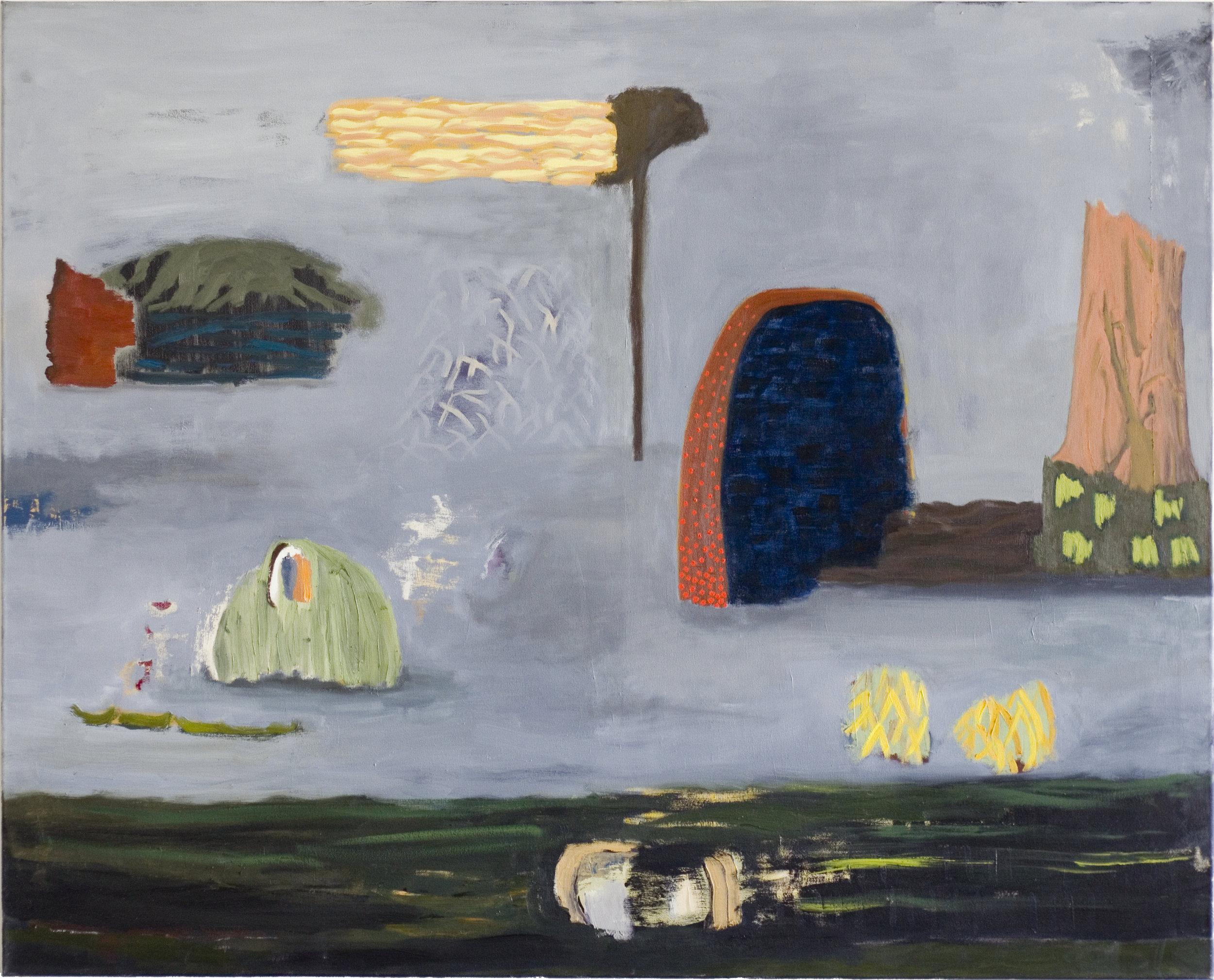 Veronika Hilger, untitled, 2012, oil on canvas, 130 x 150 cm