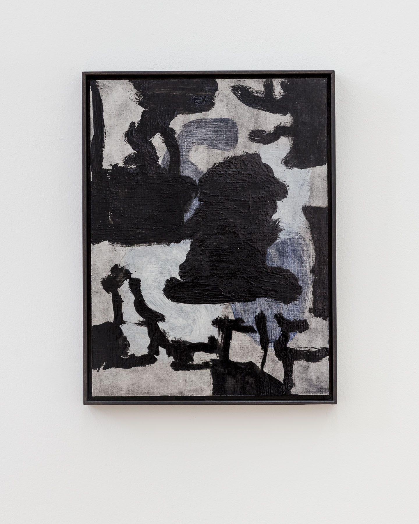 Veronika Hilger, untitled, 2016, oil on paper, 40 x 30 cm