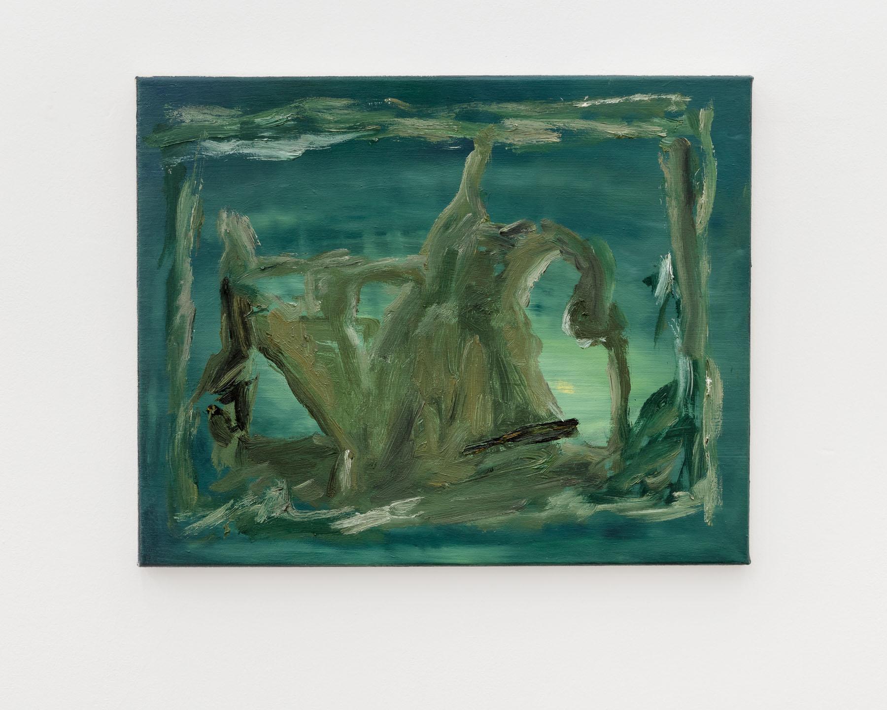 Veronika Hilger, untitled, 2016, oil on canvas, 40 x 50 cm