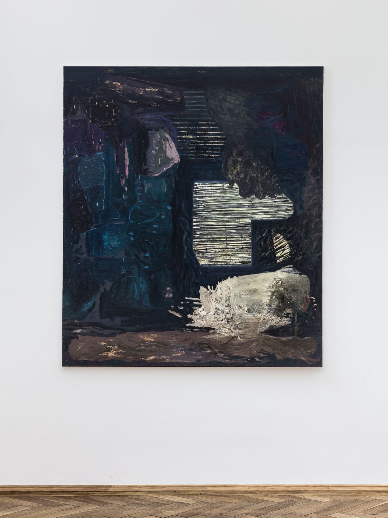 Veronika Hilger, untitled, 2016, oil on canvas, 150 x 130 cm