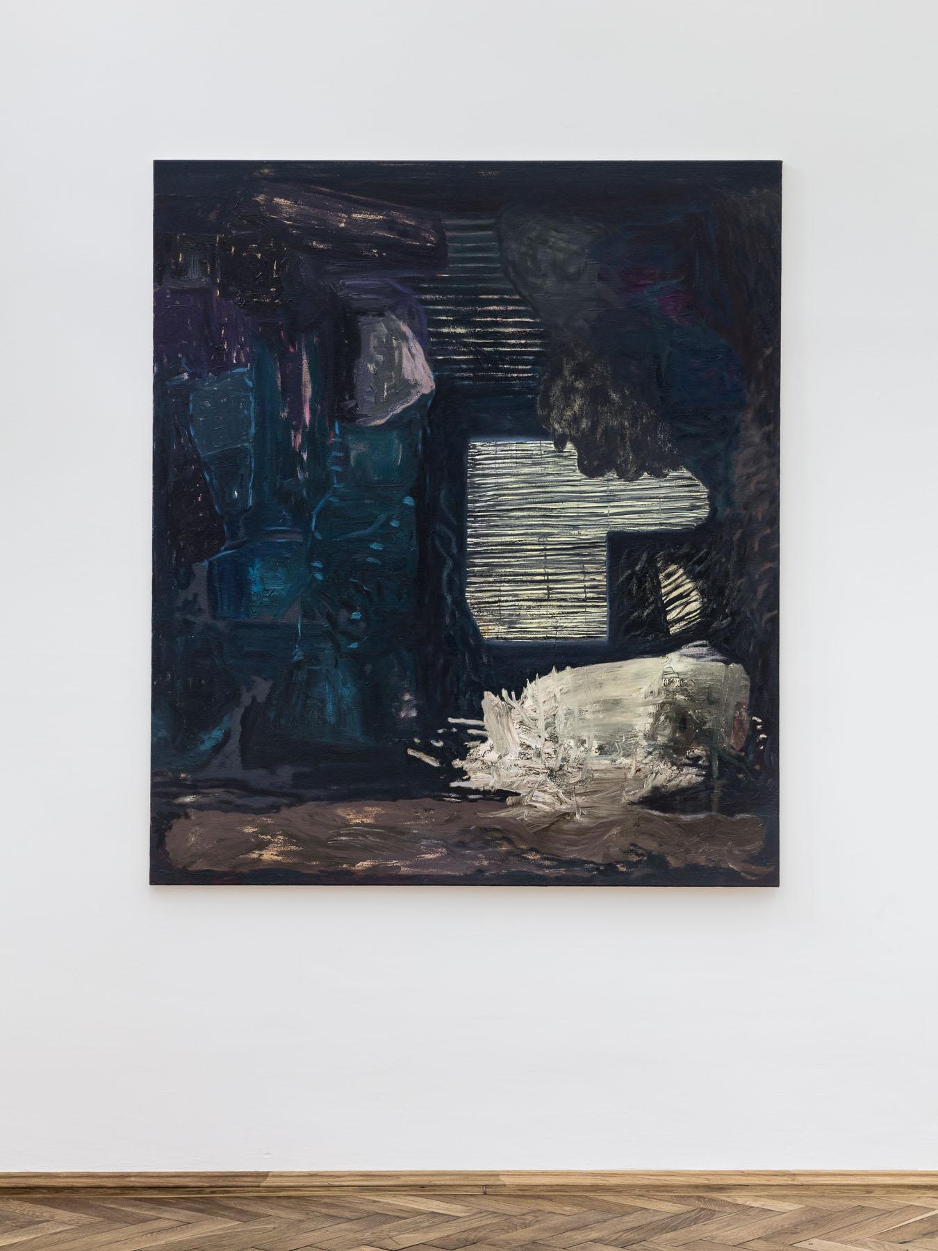 Veronika Hilger, untitled, 2016, oil on canvas, 150 x 130 cm