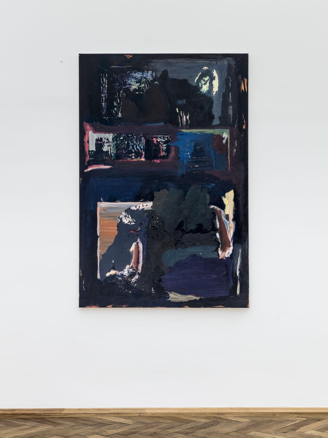 Veronika Hilger, untitled, 2016, oil on canvas, 150 x 100 cm
