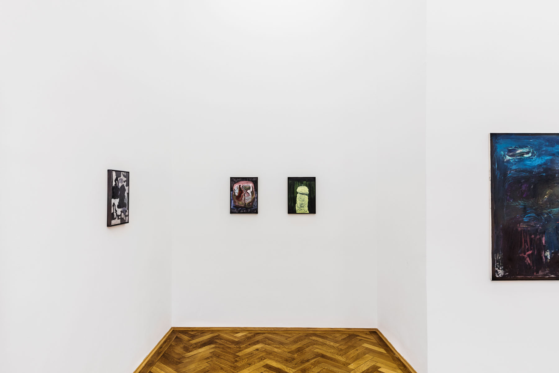 Veronika Hilger, Nacht, installation view