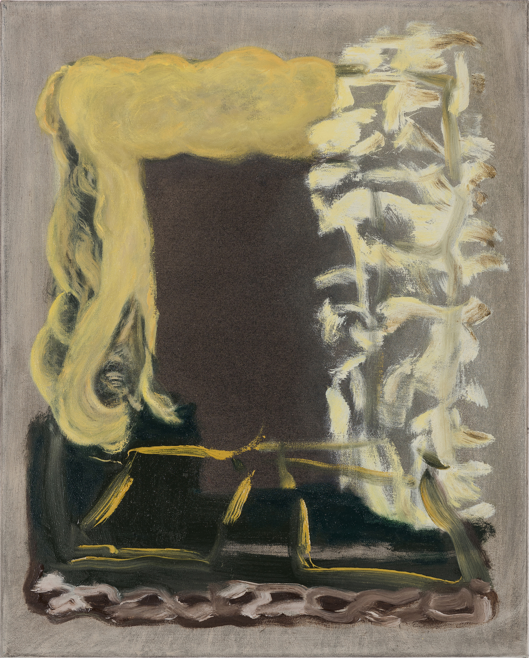 Veronika Hilger, untitled, 2018, oil on canvas, 50 x 40 cm