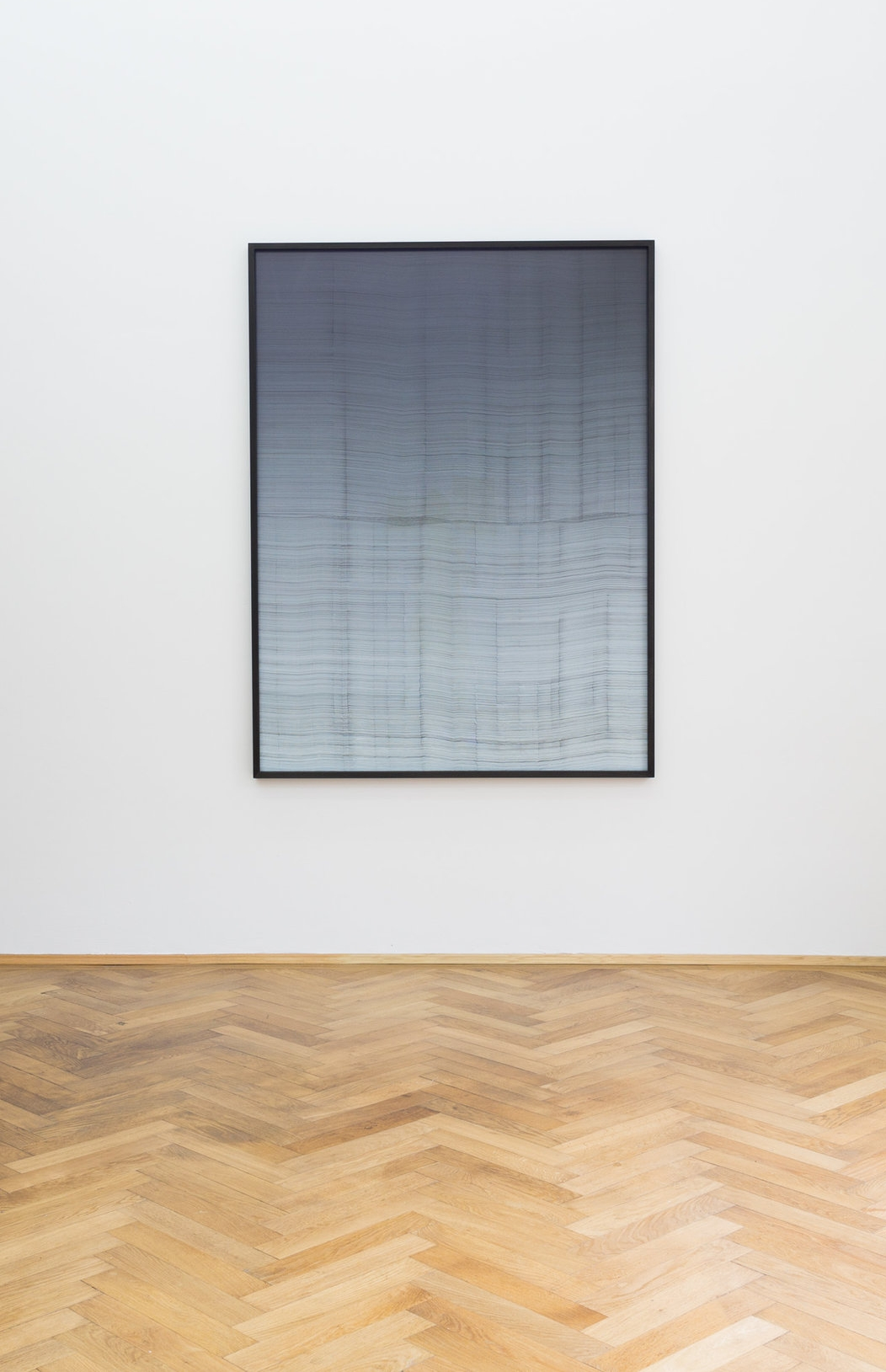 Anna Vogel, Translator XI, 2017, Indian ink on pigment print, 160 x 120 cm