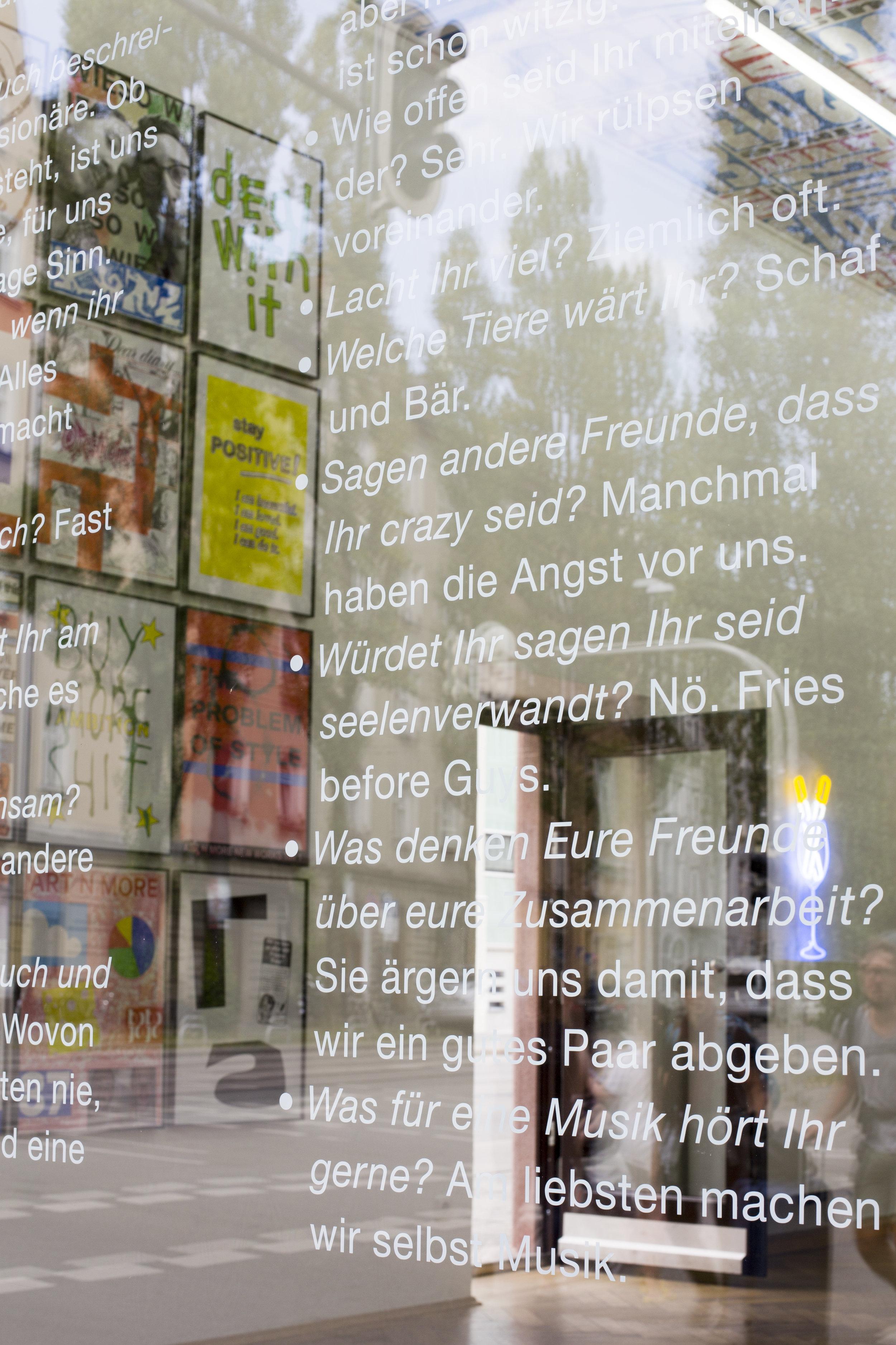 Installation View, ART N MORE NEW WORKS TEIL I, 2016, SPERLING Munich