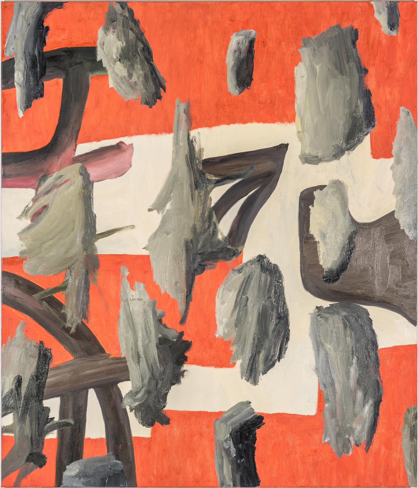 Veronika Hilger, untitled, 2018, oil on canvas, 150 x 130 cm