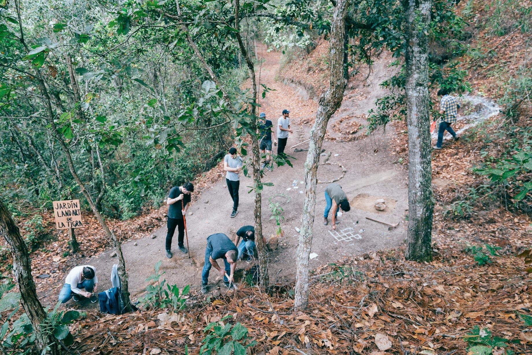 Thomas Geiger, Jardin Land Art de La Tigra (La Tigra Land Art Garten), Public Project, Réunion - La Tigra Forest, Tegucigalpa, Honduras, 2018