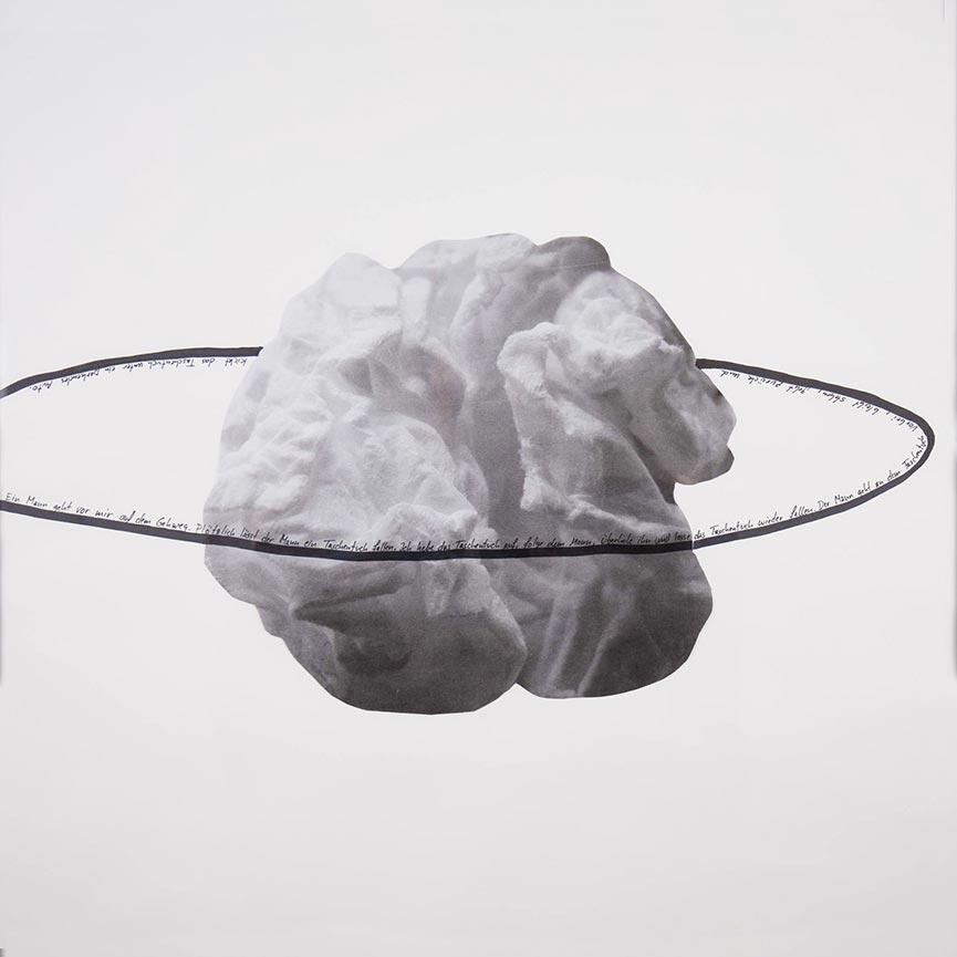 Thomas Geiger, Paper Performances, 50 × 50cm, Drawings, 2010–2014, Various dimensions, Each a unique