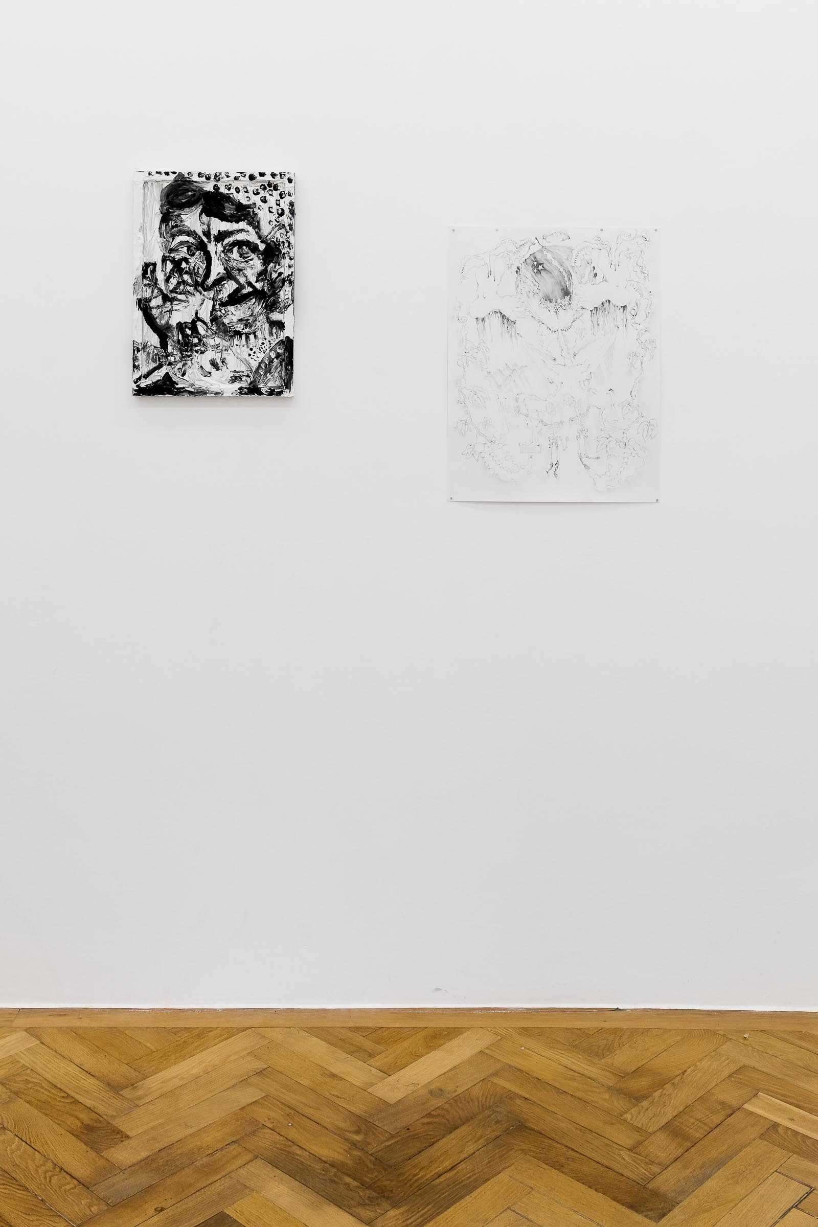 Exhibition View, TWO TO TANGO TWO, 2019