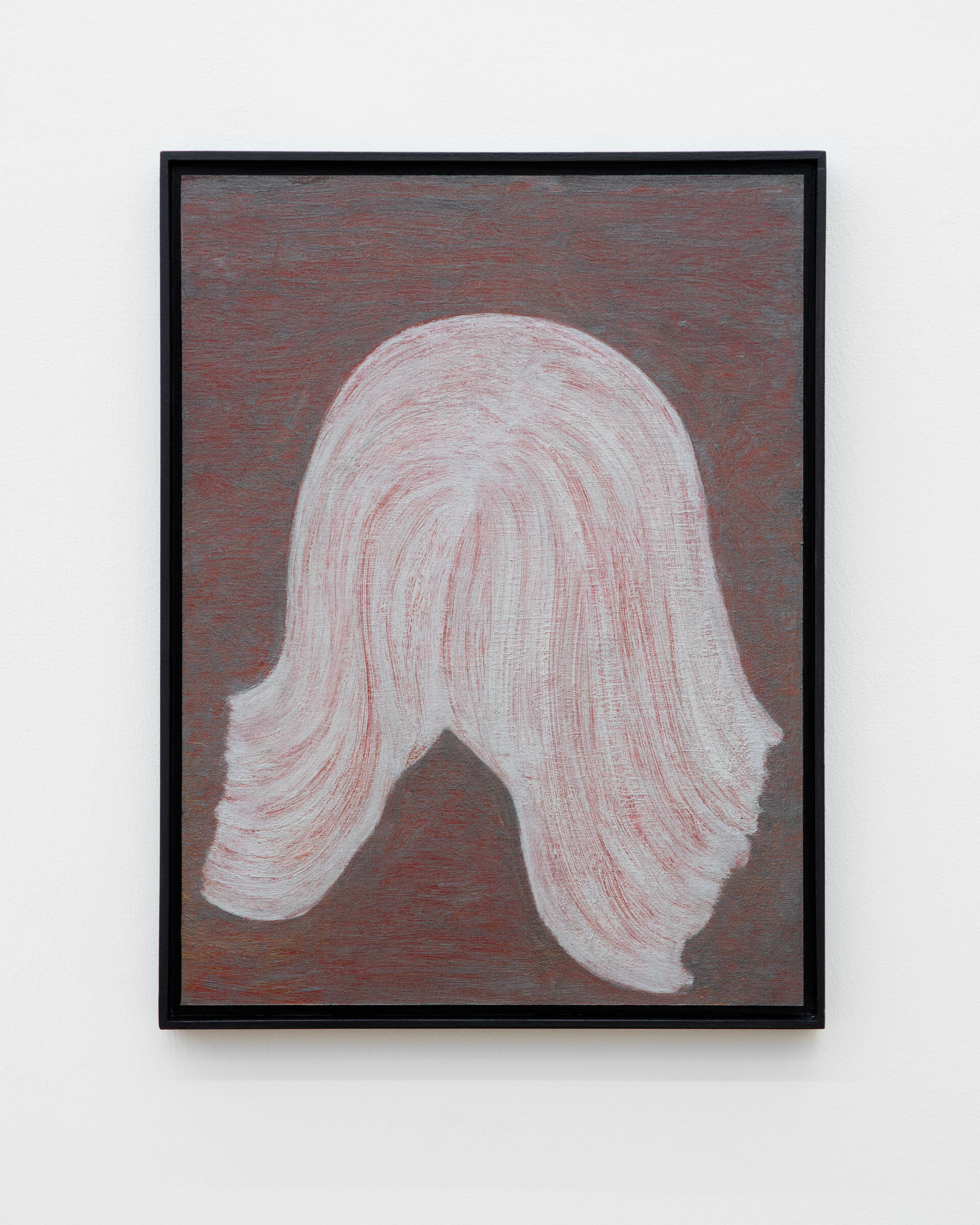 Veronika Hilger, untitled, 2019, oil on paper on MDF in artists frame, 40 x 30 cm