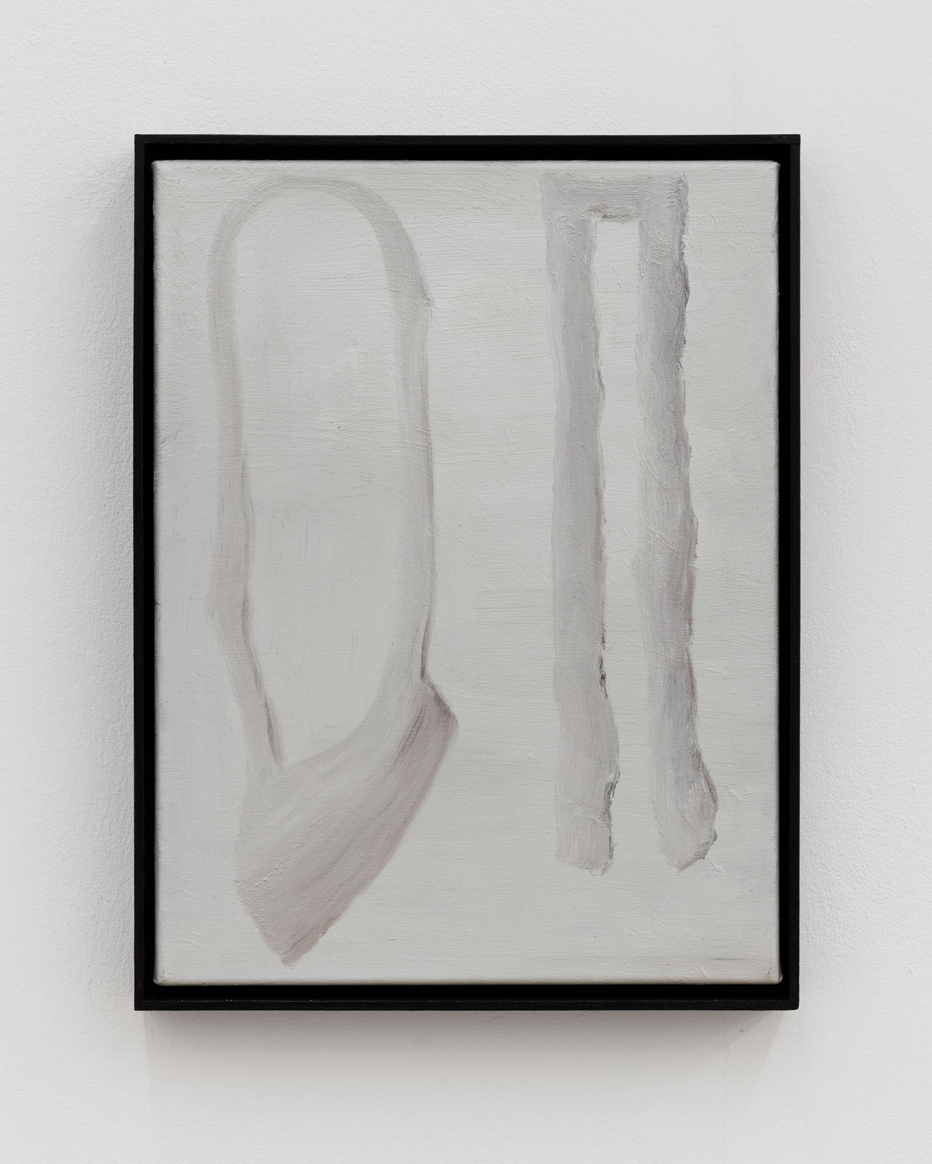 Veronika Hilger, untitled, 2019, oil on canvas in artists frame, 40 x 30 cm