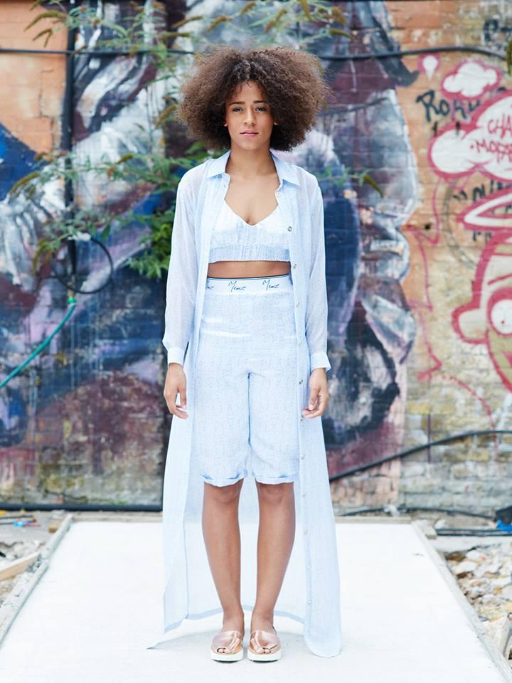 Ayisha modelling Yemzi SS16