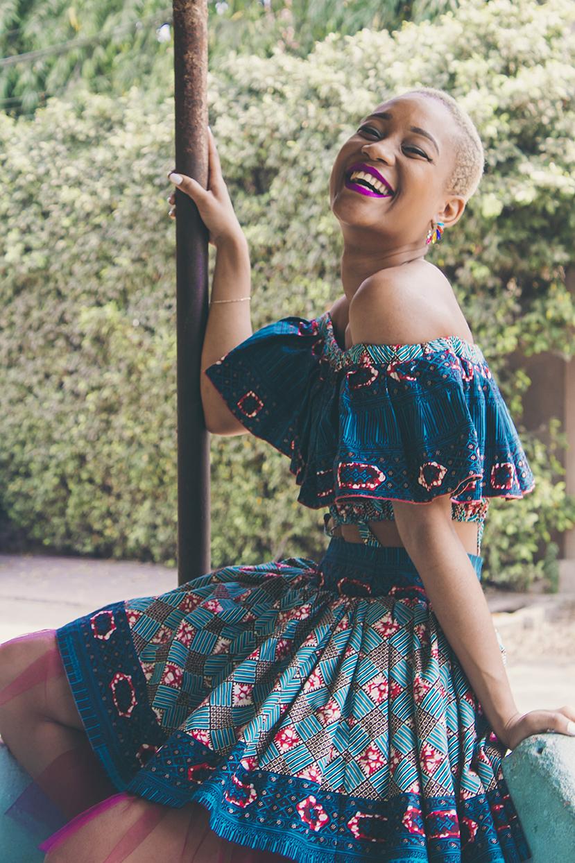 Yemzi Girl 17, Tania, Graphic Design Student & YouTuber from Benin