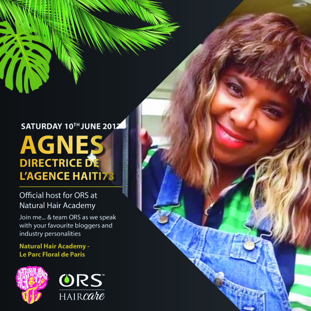 ORS haircare is a client of Agnes's