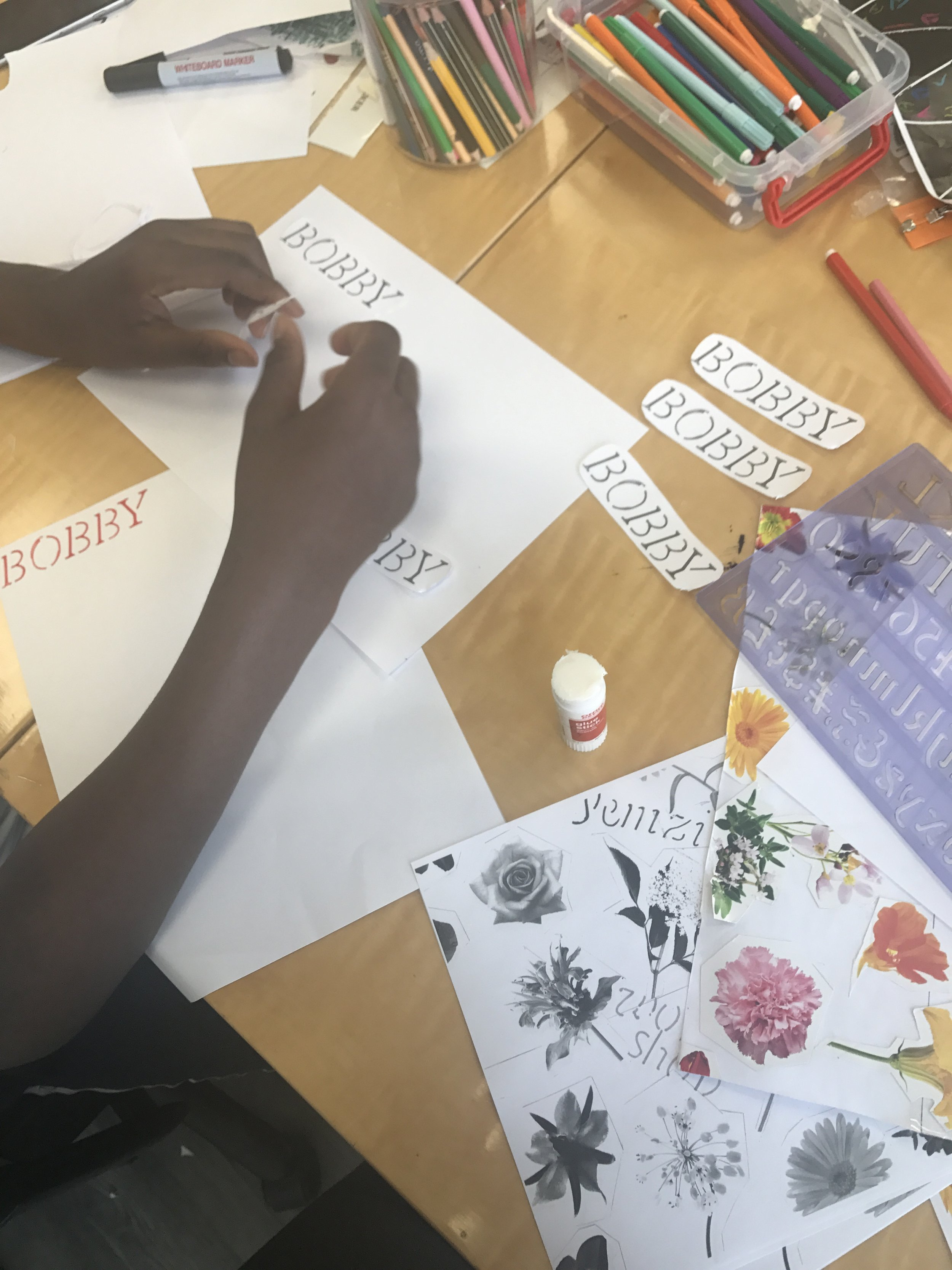 The last workshop was in August with secondary school students at Inspire!, Dalston