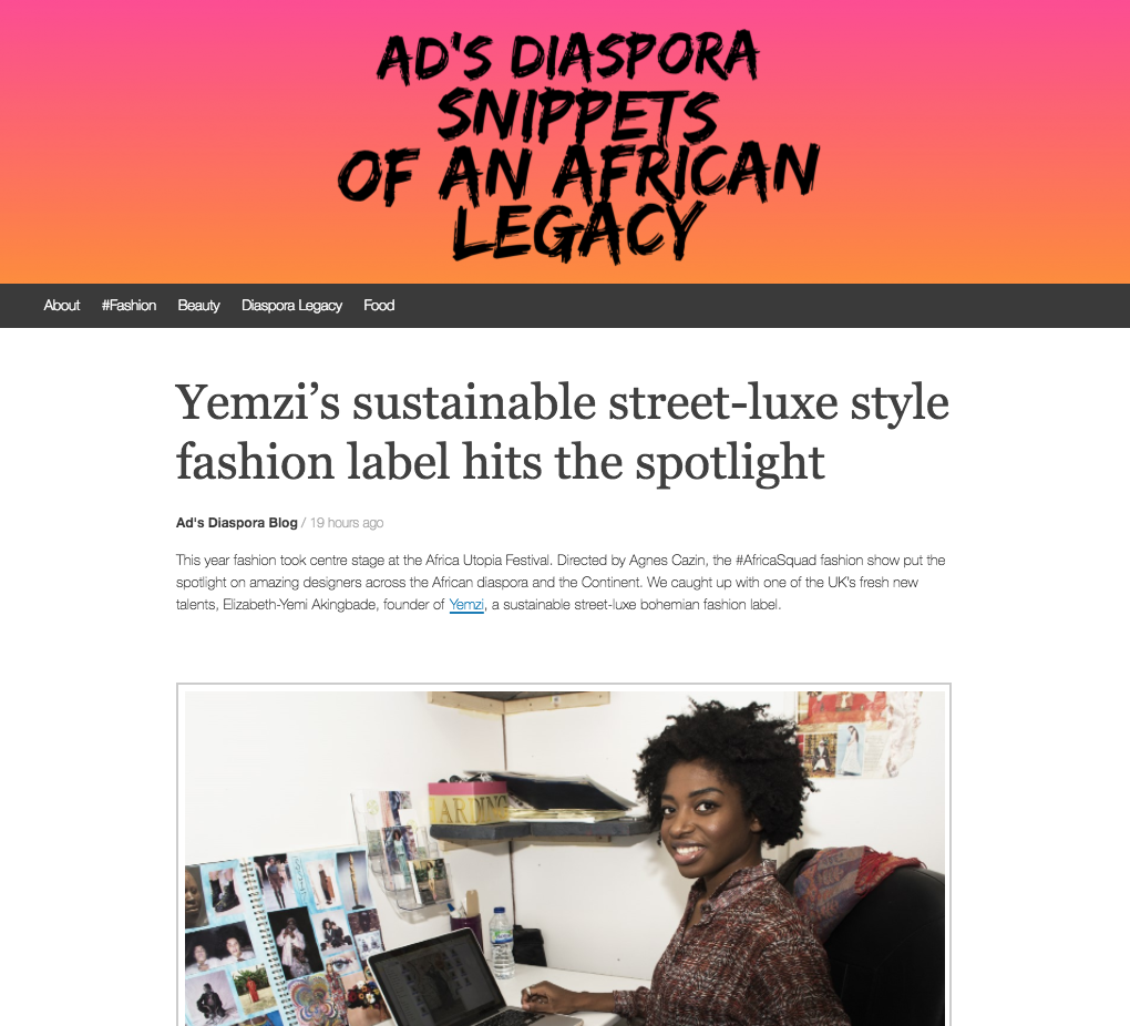 Ad's Diaspora