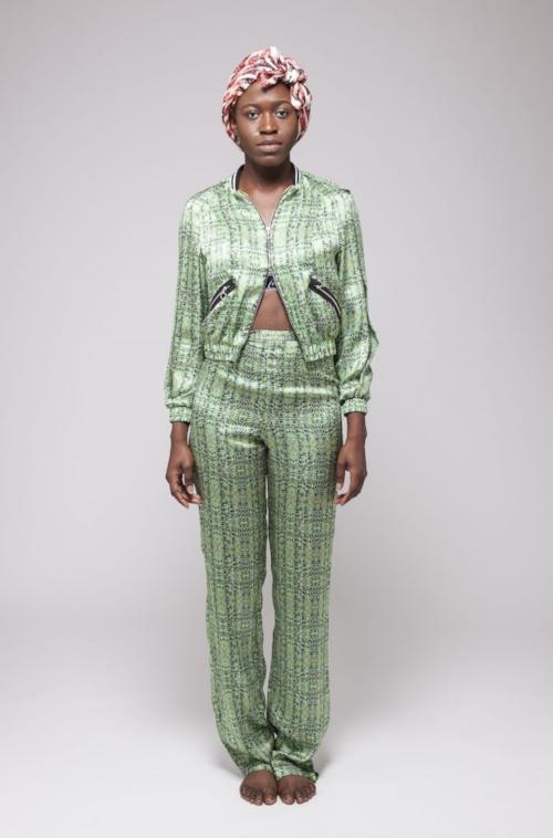 Yemzi Emerald High Waist Trousers Front SS16.jpg