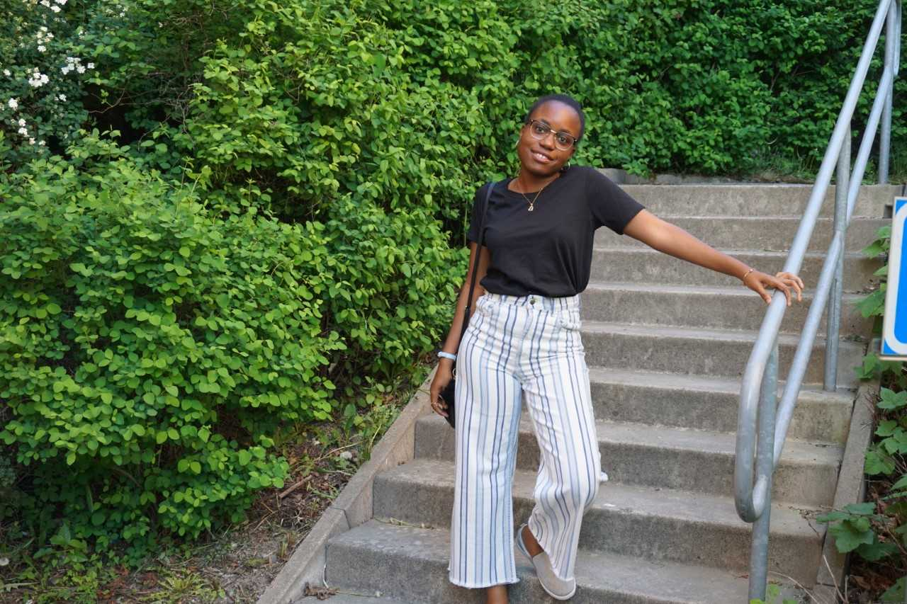 Hilma, budding Graphic Designer, from Angola
