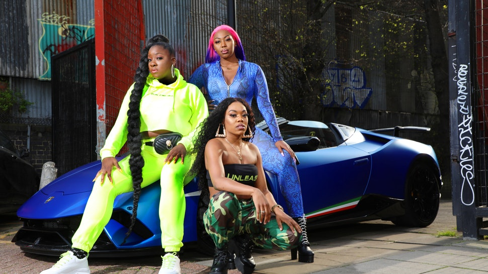 Left, centre and top right: Lioness, Lady Leshurr & Ms Banks