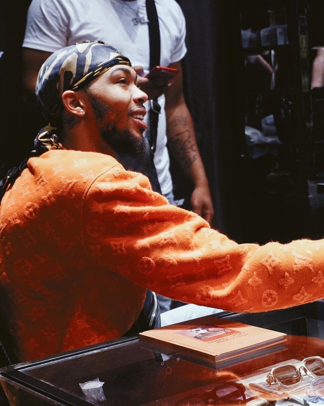 Brandon Ingram wears Silk Jersey Durag to NBA trade press talk