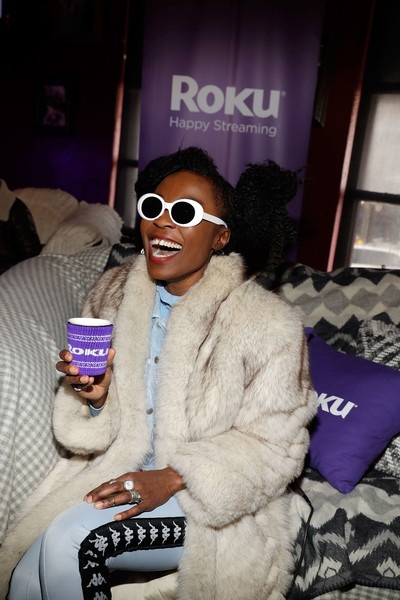 Nana Ghana attends Rock & Reilly's daytime lounge presented by J.Crew, NYLON and Roku during Sundance Film Festival 2018 on January 21, 2018 in Park City, Utah.