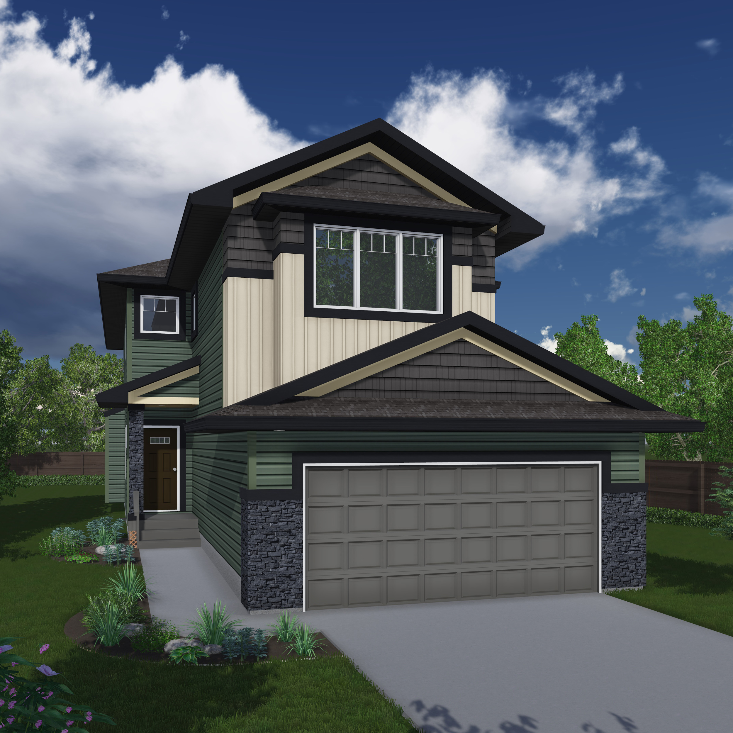New Home Builder Edmonton Kirkland Homes The Falkirk