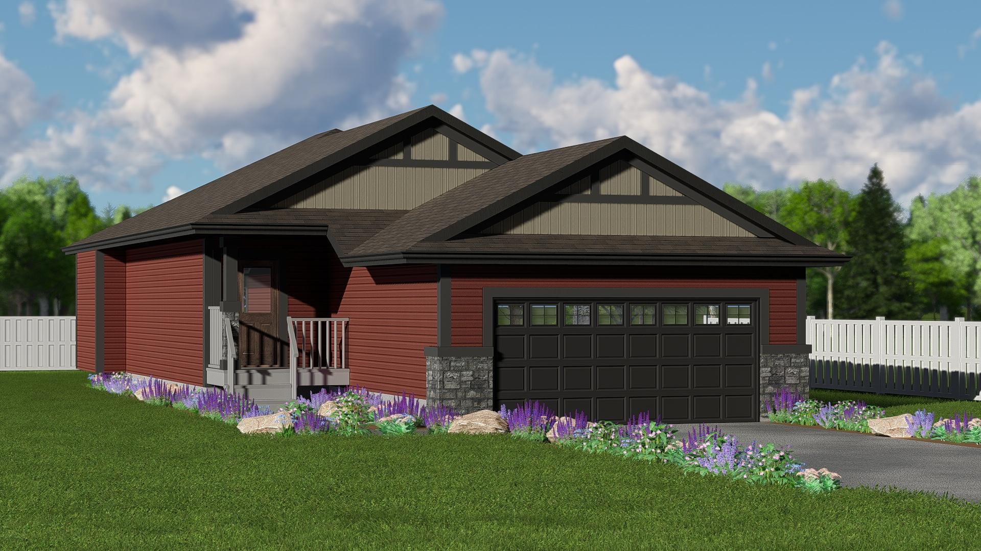 New Home Builder Edmonton Kirkland Homes The Gertrude