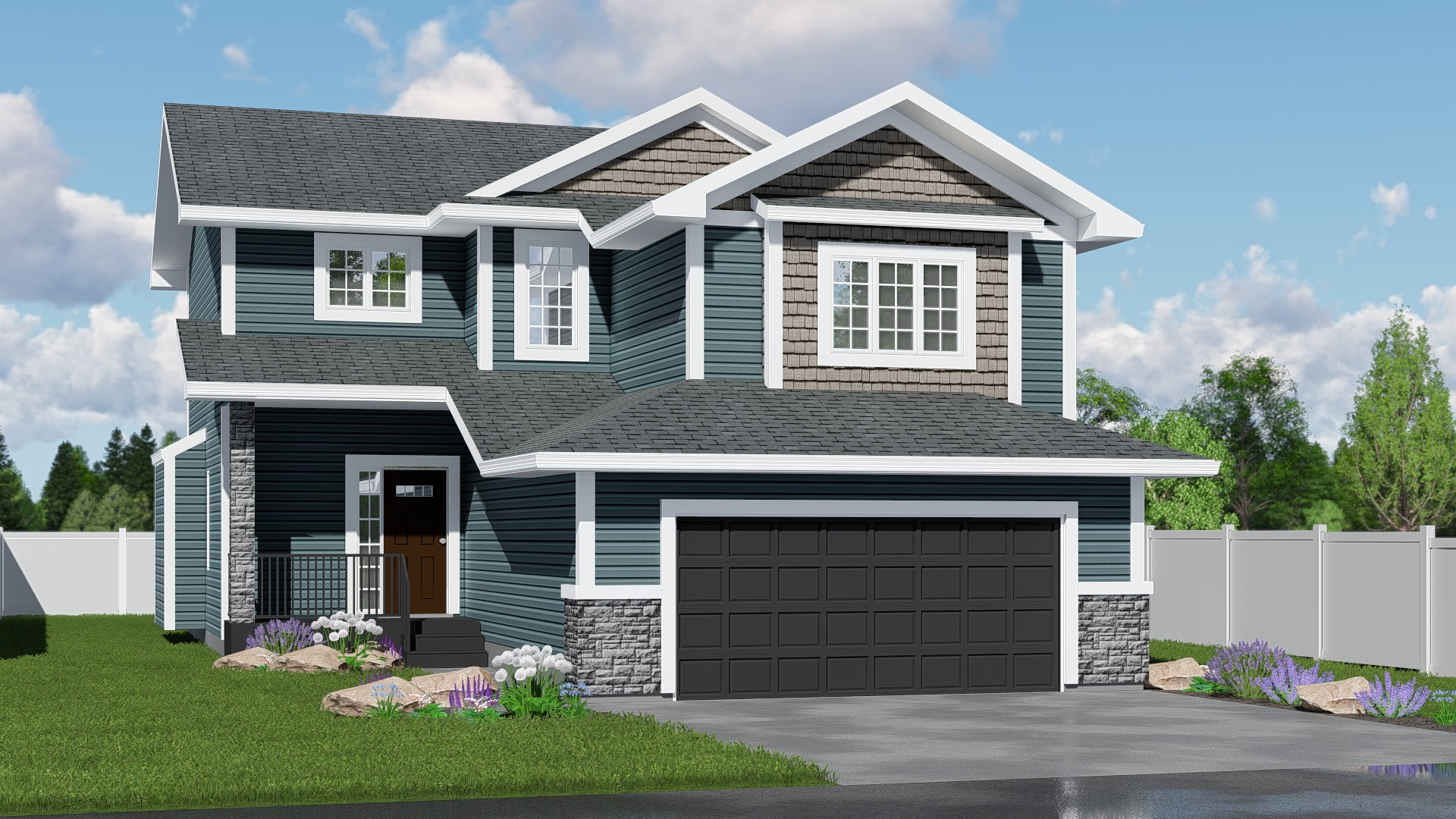 New Home Builder Edmonton Kirkland Homes the Shaughnessy